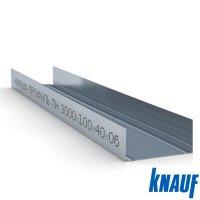 Профиль направляющий ПН 100*40 3м. Knauf