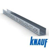 Профиль направляющий потолочный ППН 28*27 3м. Knauf
