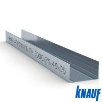 Профиль направляющий ПН 75*40 3м. Knauf