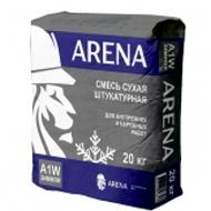 ARENA A1W - 20кг смесь сухая штукатурная для внутренних и наружных работ.