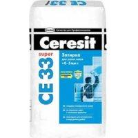 Затирка Ceresit СЕ33 (белая №01) 2-5 мм, 5 кг