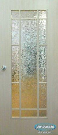 Ламинированная дверь ДО-09 цвет Дуб Беленый