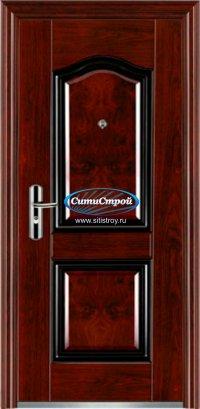 Стальная дверь GST-611 PVC, 50 мм