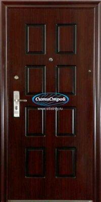 Стальная дверь Квадро, 70 мм (Термопечать)
