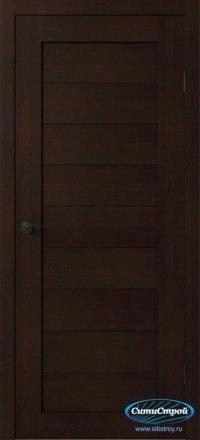 Дверь с ПВХ МАСТЕР 634 ВГ цвет Венге
