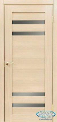 Дверь с ПВХ МАСТЕР 636 ДБ цвет Беленый Дуб