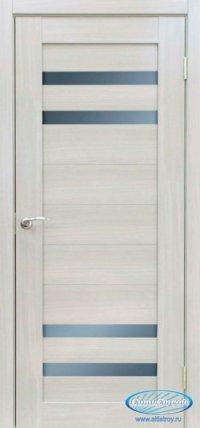 Дверь с ПВХ МАСТЕР 636 СБ цвет Сандал Белый