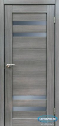 Дверь с ПВХ МАСТЕР 636 СН цвет Сандал Серый