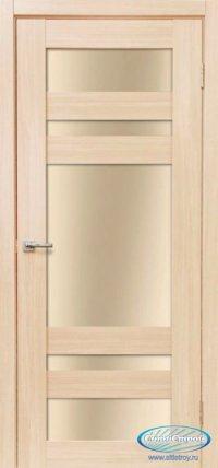 Дверь с ПВХ МАСТЕР 639 ДБ цвет Беленый Дуб