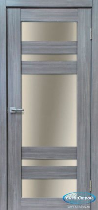 Дверь с ПВХ МАСТЕР 639 СН цвет Сандал Серый