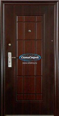 Стальная дверь Витраж, 70 мм (Термопечать)