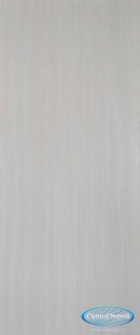Ламинированная дверь глухая цвет Дуб Беленый