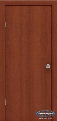 Ламинированная дверь глухая цвет Итальянский Орех