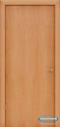 Ламинированная дверь глухая цвет Миланский Орех