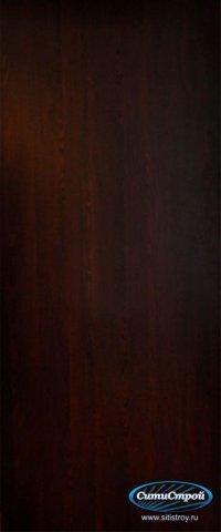 Ламинированная дверь глухая цвет Венге