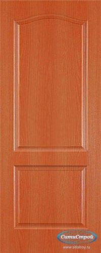 Ламинированная дверь глухая Палитра цвет Миланский Орех