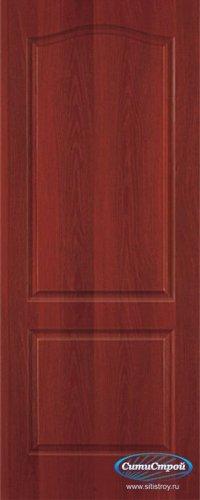 Ламинированная дверь глухая Палитра цвет Итальянский Орех