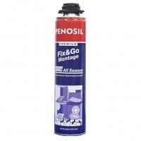 Клей монтажный аэрозольный Penosil Premium FIX&GO Montag 750 мл