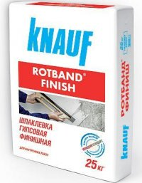 Шпаклёвка Ротбанд Финиш (Rotband Finish) 25 кг.