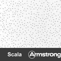 Панель потолочная Армстронг SCALA 600x600x12 мм