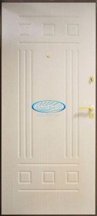 Сейф-Дверь Коллизей Цвет Беленный дуб