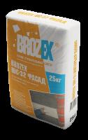 Штукатурка Brozex ШС-32 Фасад 25 кг.