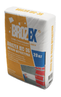 Штукатурка легкая Brozex ШС-36 20 кг.