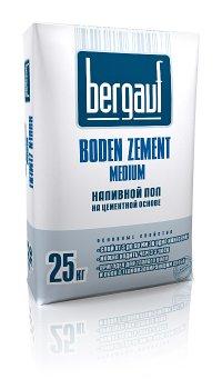 Ровнитель для пола Boden Zement Medium Bergauf