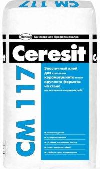 Клей для плитки Ceresit СМ 117, 25 кг