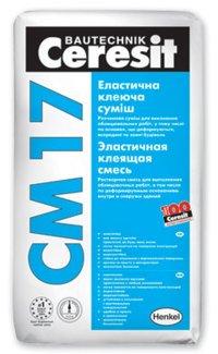 Клей для плитки Ceresit СМ 17, 25 кг