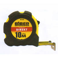 Рулетка 10м. DIRECT обрезиненный корпус ширина 25мм