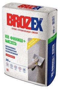 Шпаклёвка Brozex KR ФИНИШ + WR650