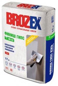 Шпаклёвка Brozex ФИНИШ ГИПС WR65