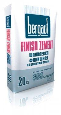 Шпаклевка Bergauf Fihish Zement Bergauf 20 кг