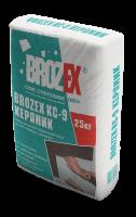 Клей для плитки Brozex КС-9 керамик, 25 кг