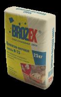 Цементно-песчаная смесь Brozex М-75 25кг.
