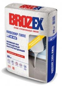Наливной пол Brozex НИВЕЛИР ГИПС NF450 20 кг.