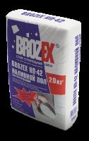 Наливной пол Brozex НП-42 20кг.