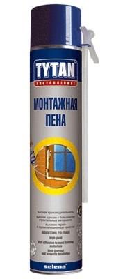 Пена монтажная Титан 0,75л. Бытовая