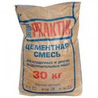Кладочная цементная смесь Praktik М 100, 30 кг
