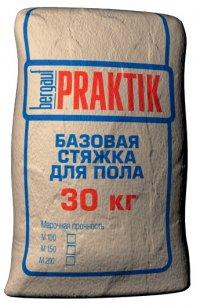 Стяжка Praktik Базовая для пола М 200 30 кг.