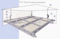 Потолок подвесной (Комплект на 1м2)