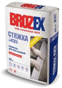Стяжка Brozex СТЯЖКА NF40 25кг.