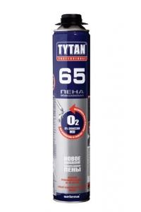 Пена монтажная Титан-65 О2  0,75л. Проф.
